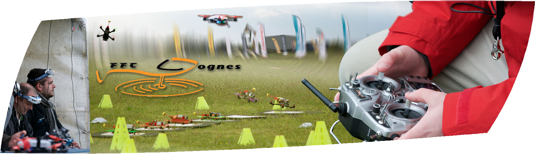 Championnat de France de FPV Racing Multi-rotor du 1 au 3 septembre 2017 à la Queue-en-Brie (94)
